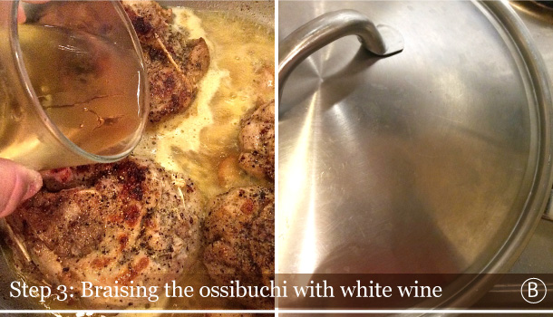 """Veal Ossibuchi Milanese"" recipe"