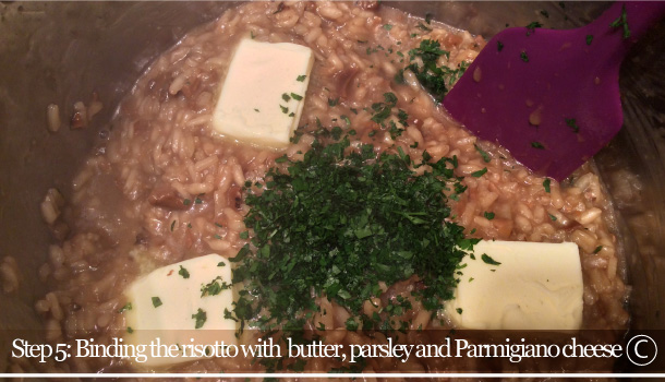 """Risotto with dried Porcini Mushrooms"" recipe"