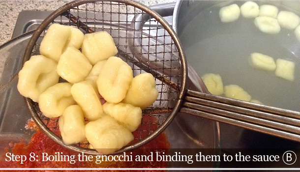 """Gnocchi in Gold and Butter sauce"" recipe"