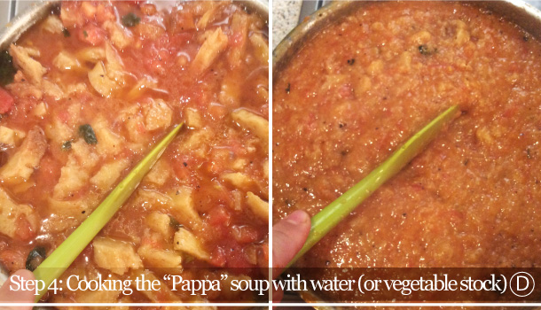 """Pappa al Pomodoro"" recipe - ""Tuscan bread and Tomato"" soup"