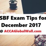 LSBF ACCA Exam Tips for December 2017