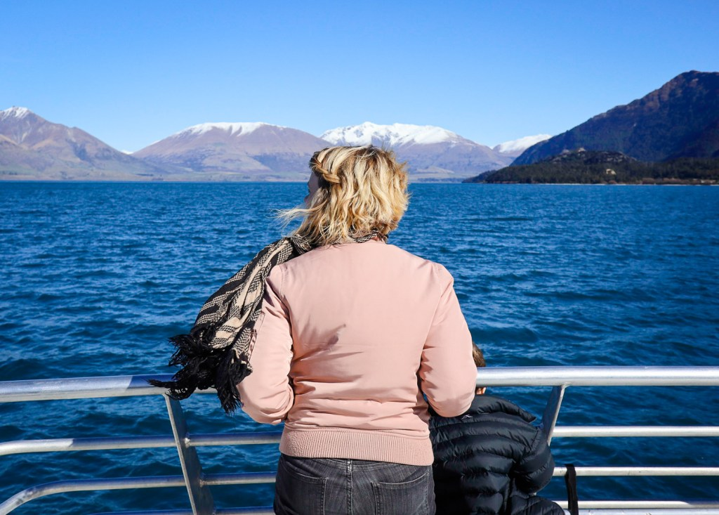 Sightseeing cruise on Lake Wakatipu, Queenstown NZ