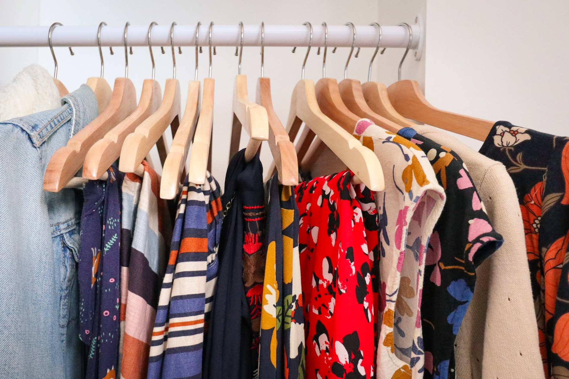 Could you stop buying new clothes for one year?