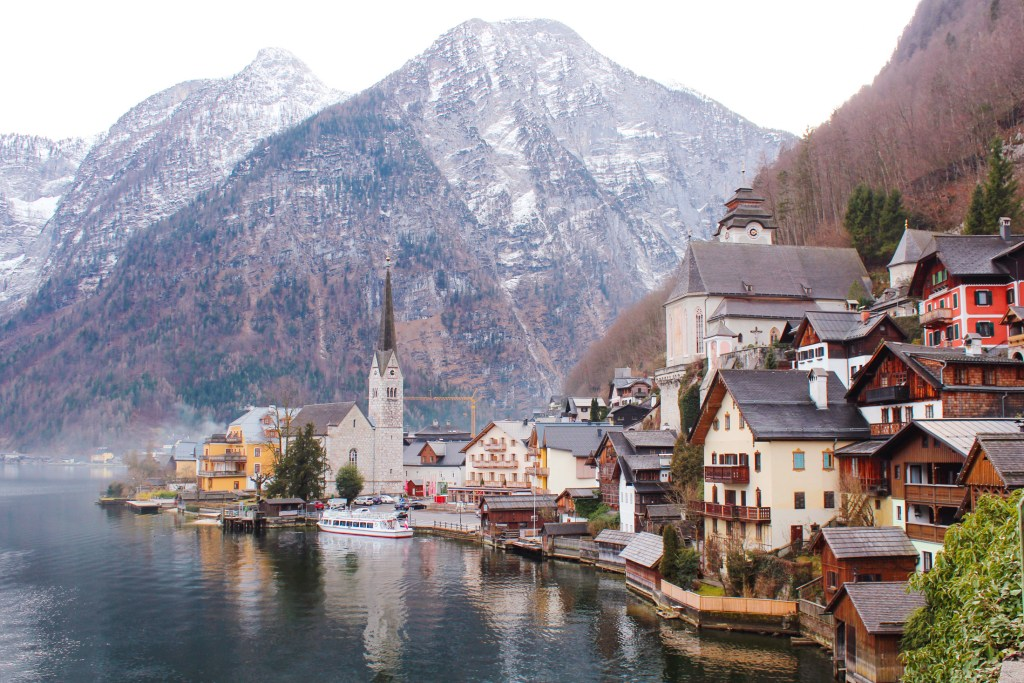 Winter in Hallstatt, Austria