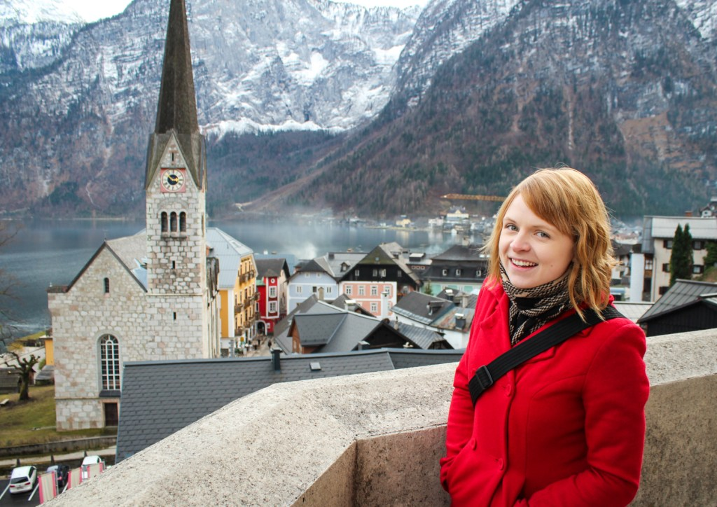 Views of Hallstatt from the Parish of the Assumption Church