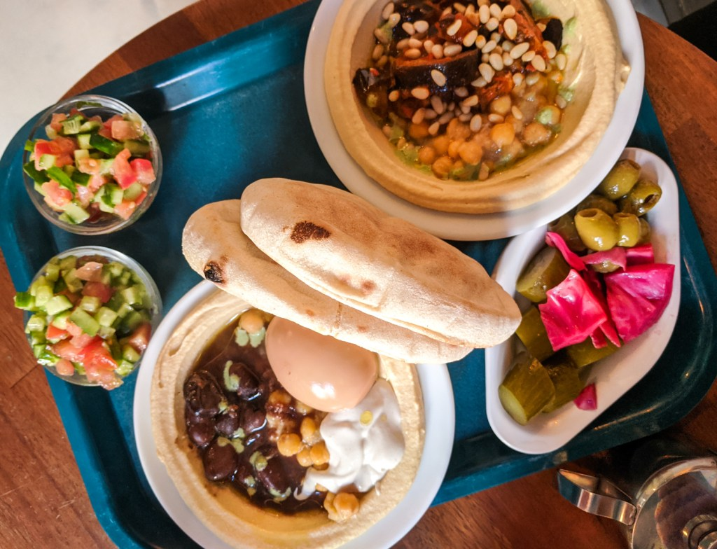 Lunch at Sir Hummus in De Pijp, Amsterdam