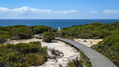 The Coast Track in Royal National Park, NSW