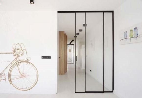 puerta aluminio vidrio correrera fijo + practicable