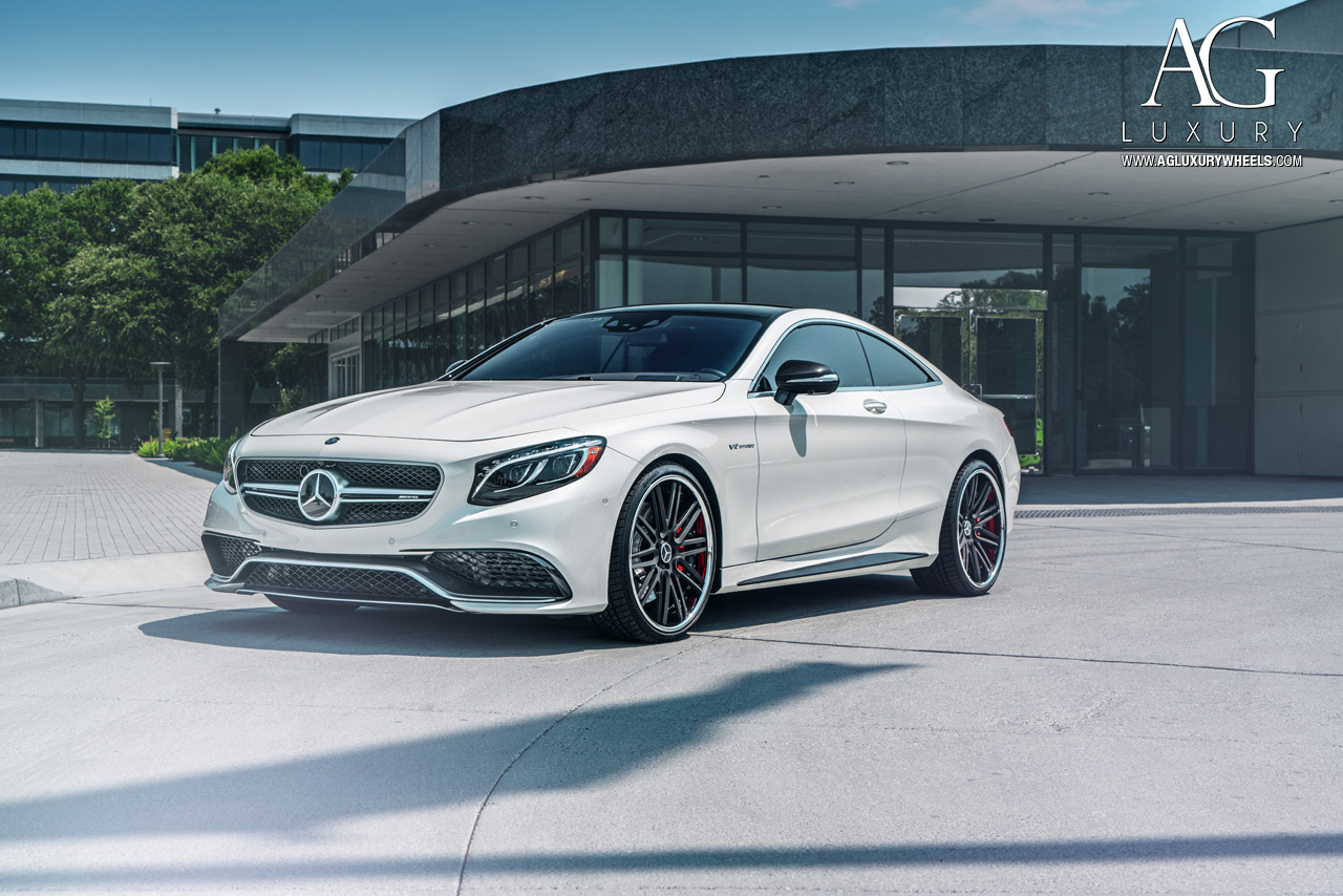 AG Luxury Wheels Mercedes Benz S63 AMG Coupe Forged Wheels