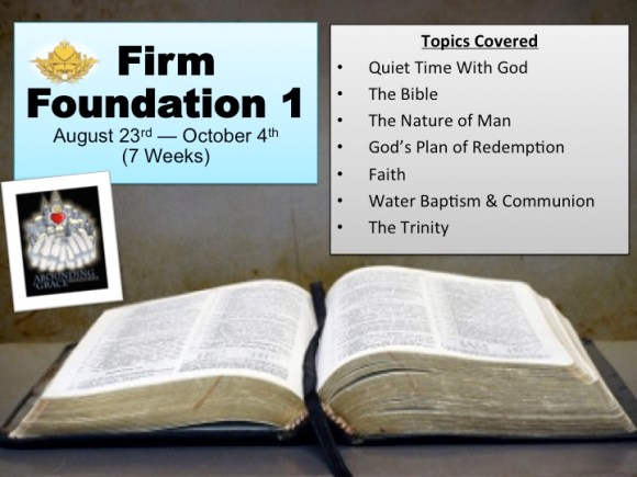 Firm foundation One
