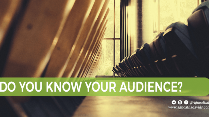 Do You Know Your Audience?