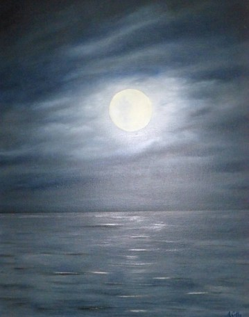 Moon Dance 20x16 Oil