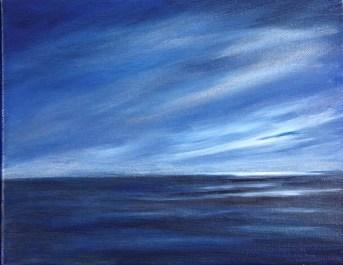 Mystic Evening 8 x 10 oil