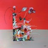 Red Flower 1 60x60*