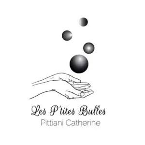 identité visuelle de l'entreprise Les P'tites Bulles