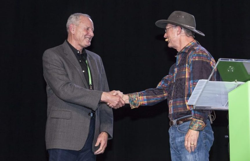 Dave Phippen is the recipient of the 2016 Almond Achievement Award