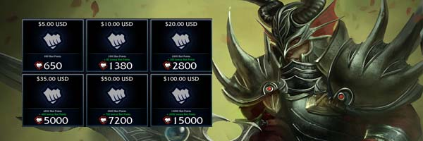 real money on league of legends