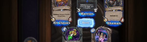 My Luckiest Hearthstone pack