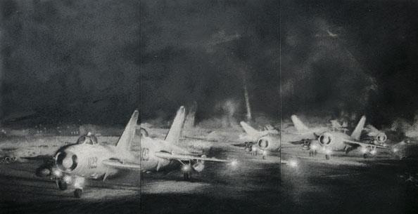 "Zhang Huan, ""Airplanes"""