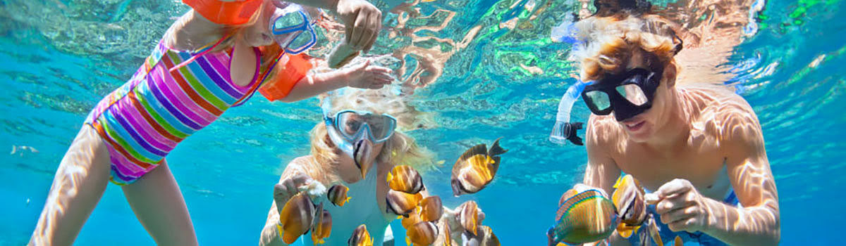 Family snorkeling in Phuket, Thailand - featured photo