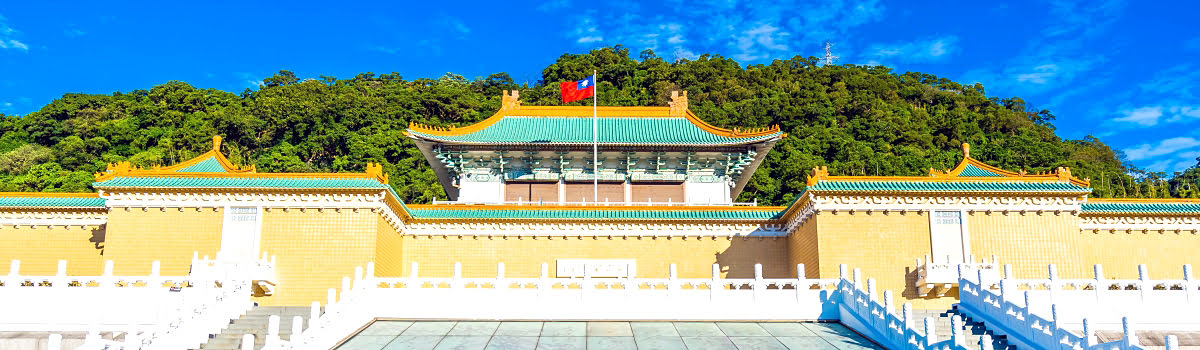 National Palace Museum-Taiwan-Featured photo-front view of museum