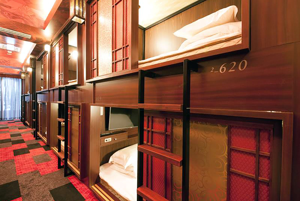 Cheap hotels in Tokyo-Japan-Centurion Hotel Residential Cabin