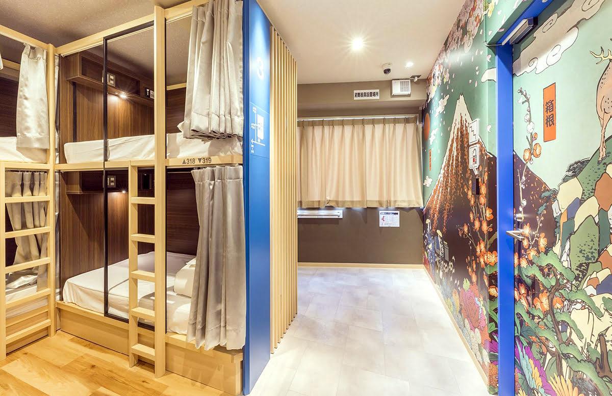 Cheap hotels in Tokyo-Japan-Hostel East57 Asakusabashi
