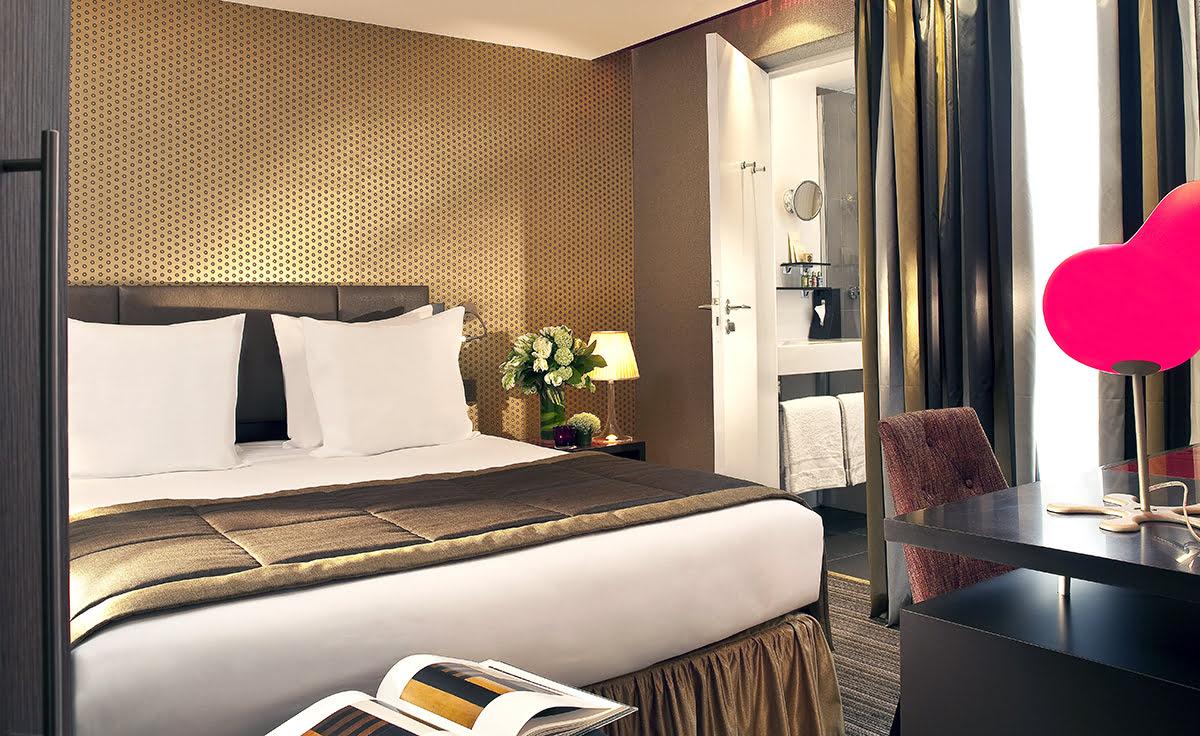 Paris attractions-travel France-Hotel Elysees Mermoz