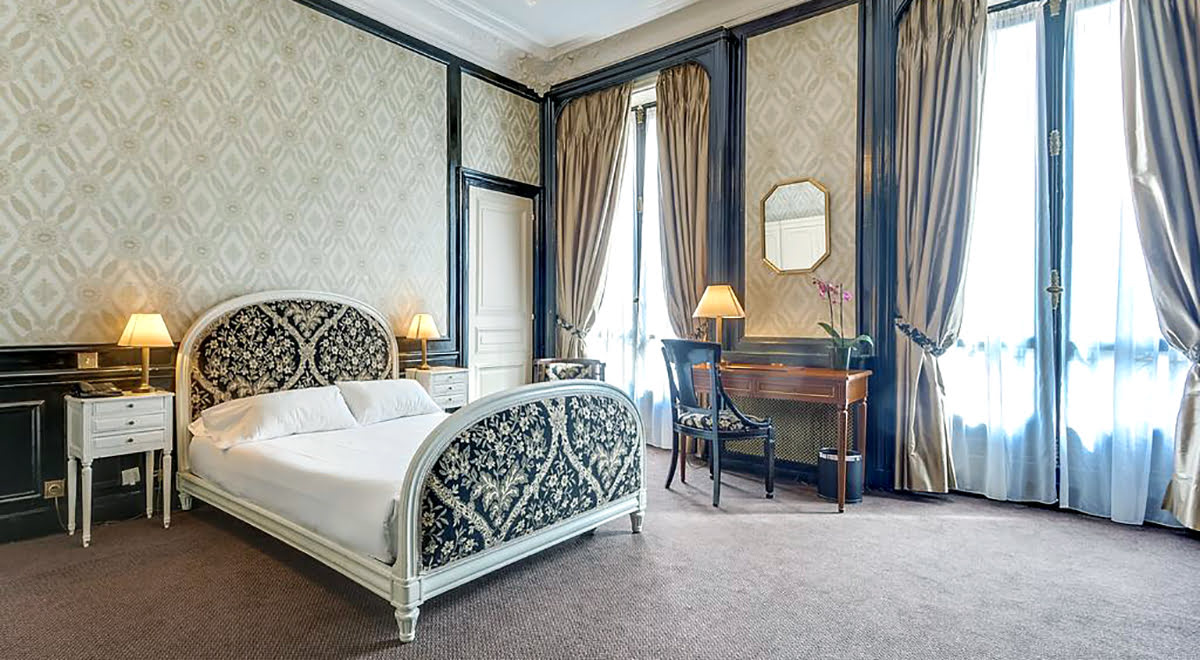 Paris attractions-travel France-Normandy Hotel
