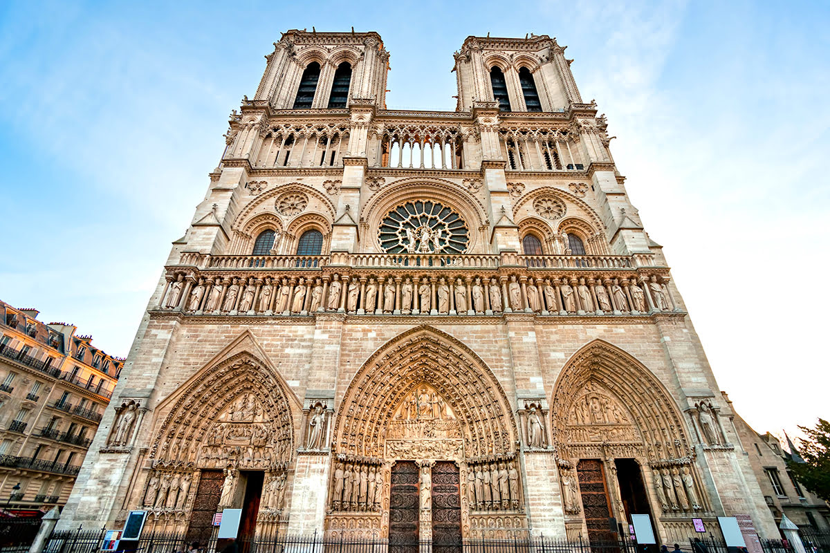 Paris attractions-travel France-Notre Dame Cathedral
