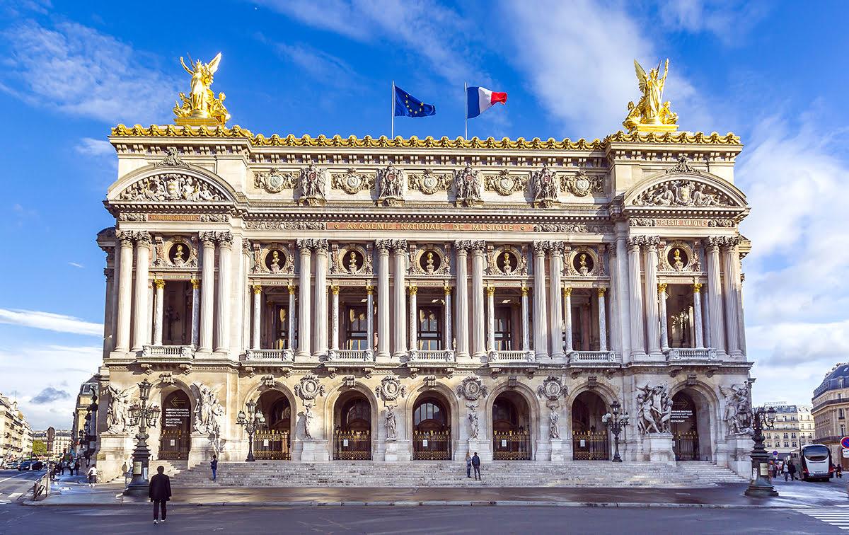 Paris attractions-travel France-Palais Garnier Opera House
