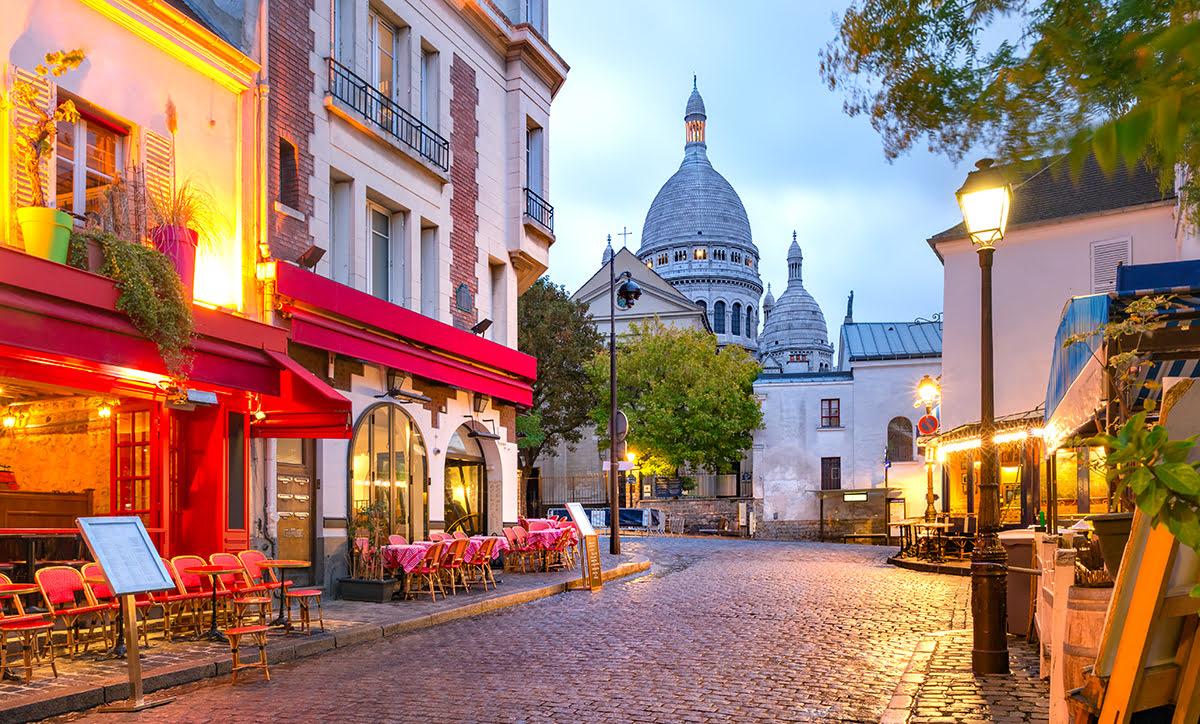 Paris shopping-France-Montmartre