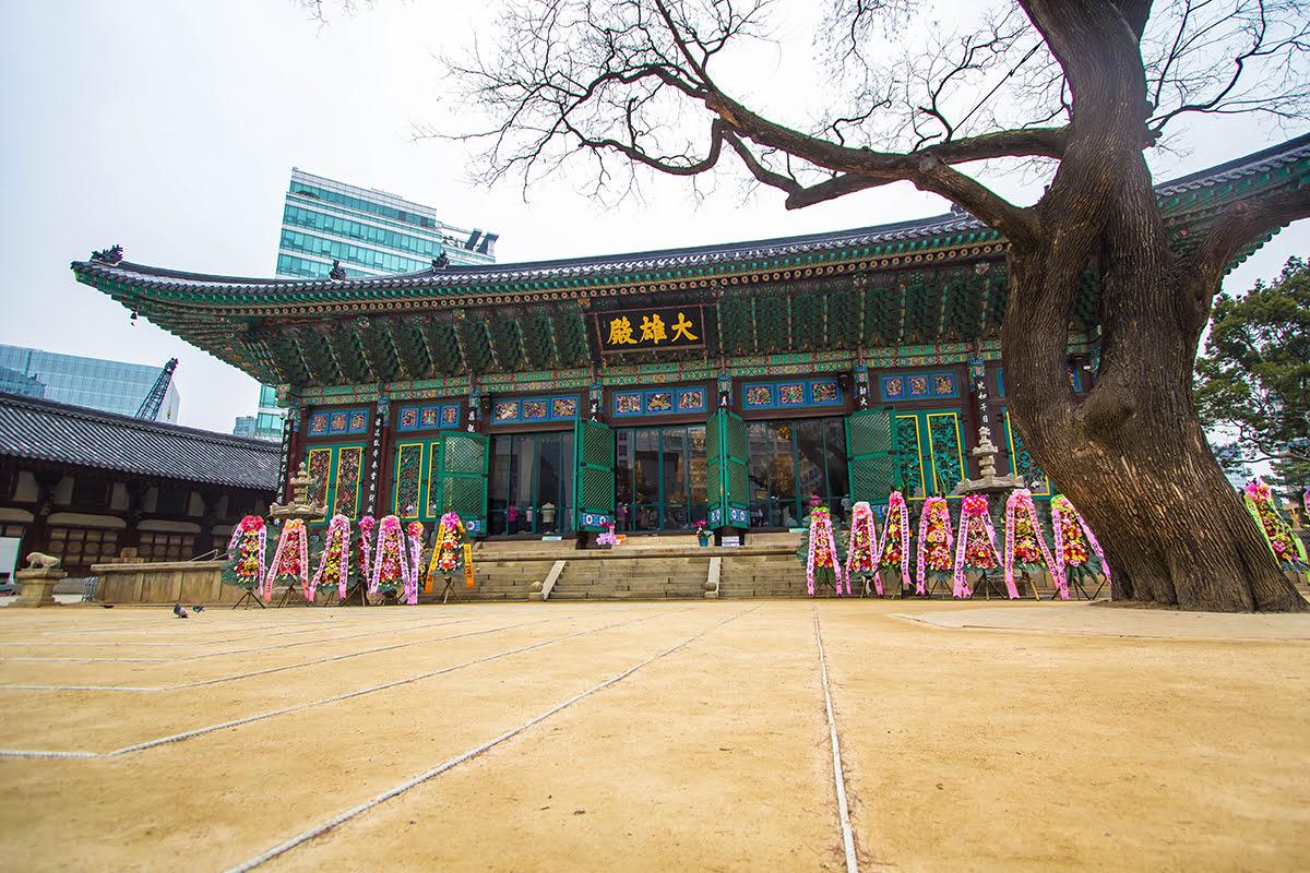 Insadong-things to do-Seoul-Jogyesa Temple
