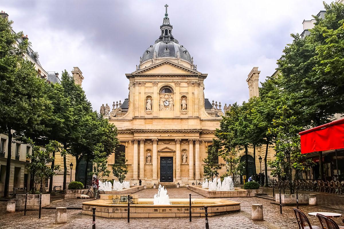 Latin Quarter-Paris-La Sorbonne