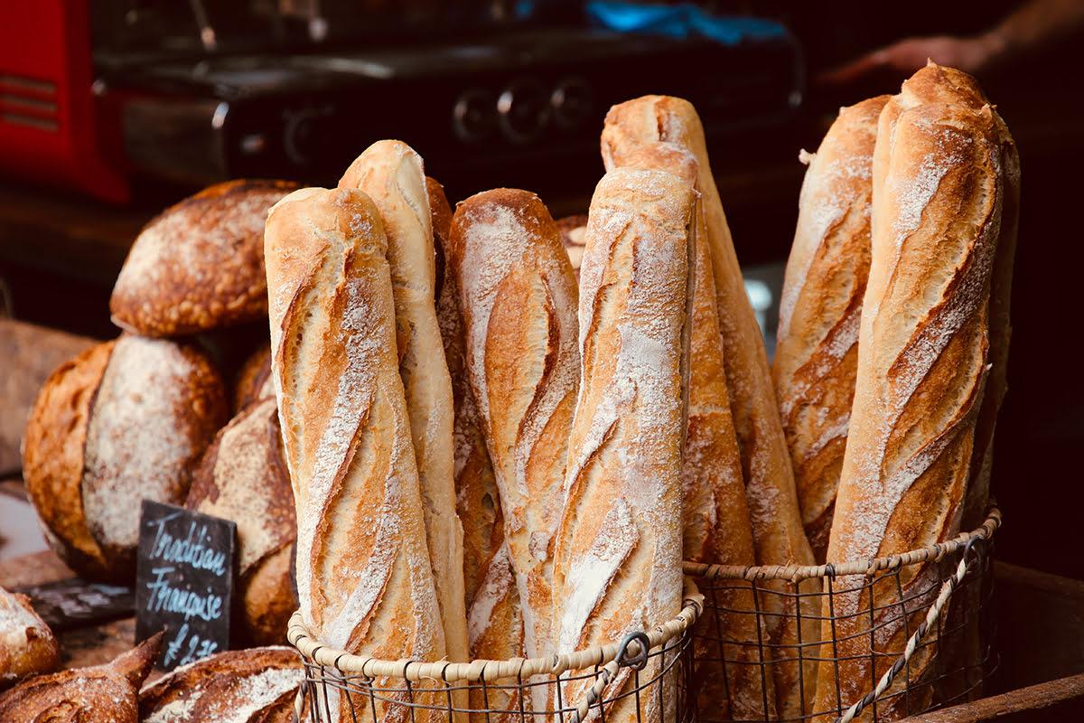 Paris food-Baguettes