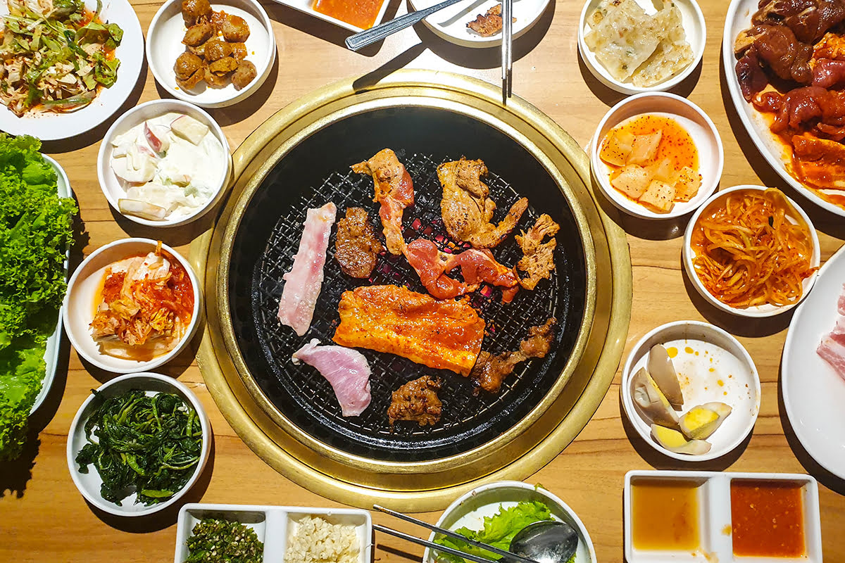 Seoul Food-Korean BBQ-Insadong