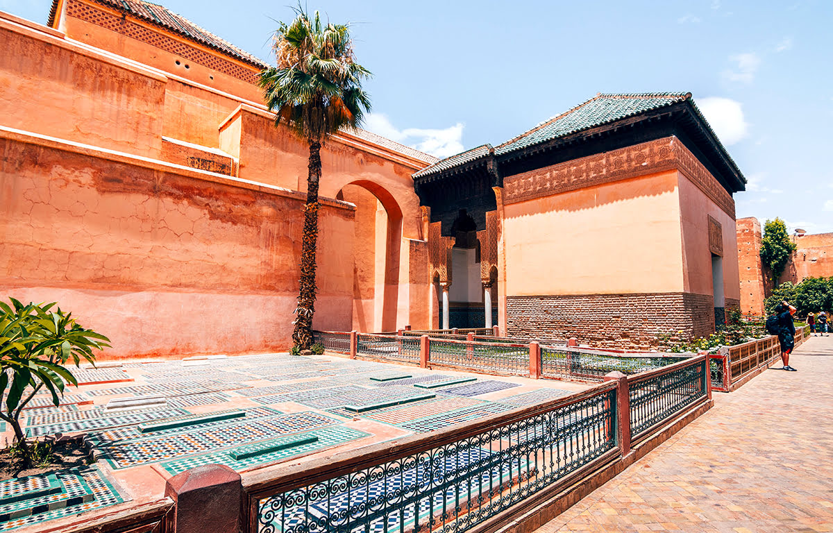 Things to do in Marrakech-Morocco-Saadien's Tombs