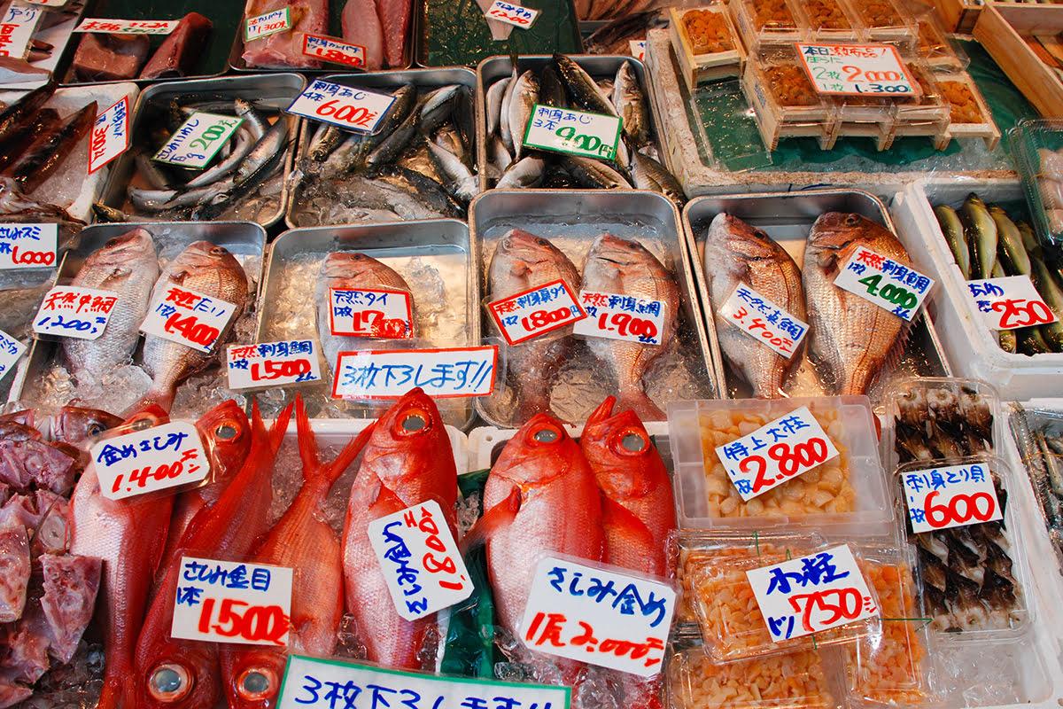 Tokyo food-what to eat-Japan-Tsukiji Fish Market-Toyosu Fish Market