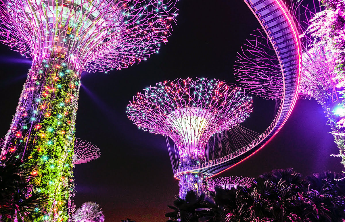 Places to visit in Singapore-Gardens by the Bay