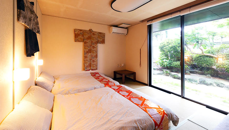 Hotels in Kyushu-best time to visit-GUESTHOUSE HAKOZAKI GARDEN
