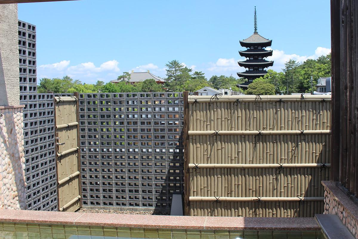 Nara onsen-Japanese bath-Asukasou Hotel