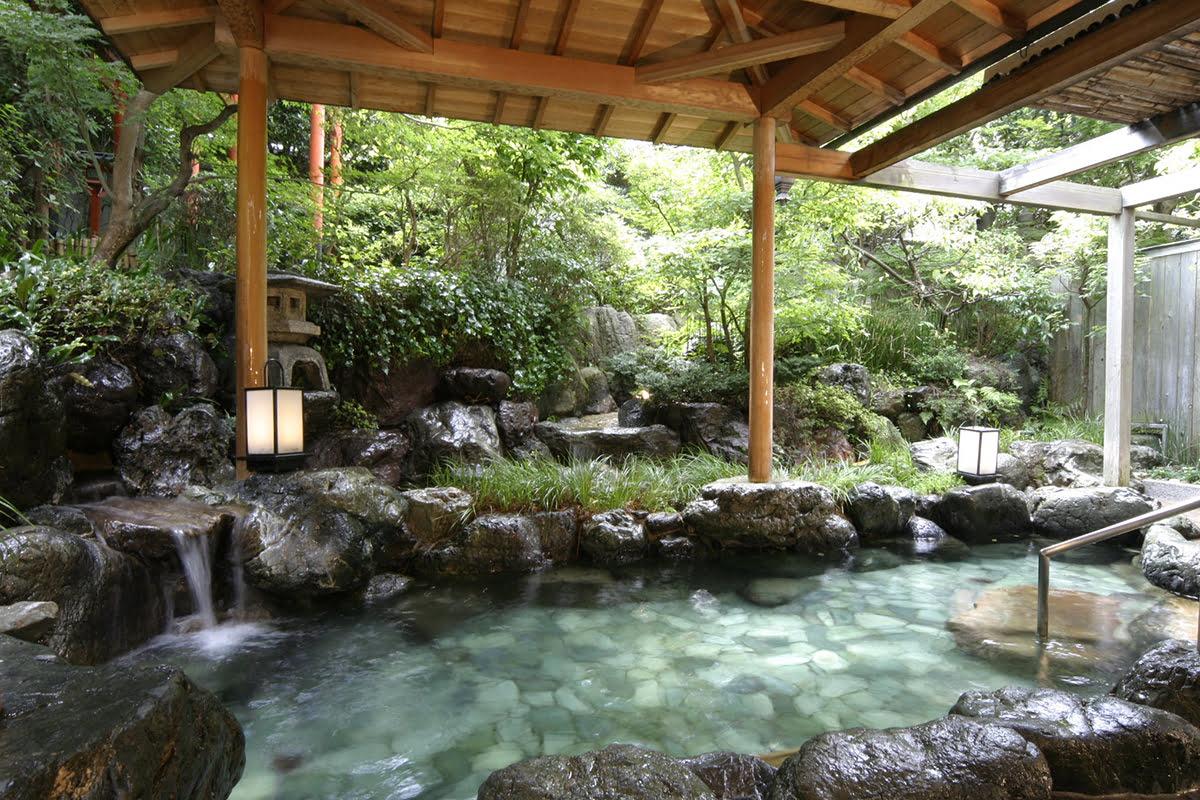 Nara hot springs-Japanese baths-Kasuga Hotel