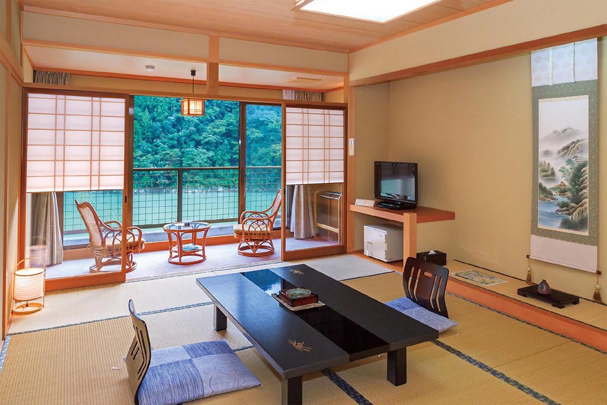 Nara hot springs hotels-Japan onsen-Kosenkaku Yoshinoya