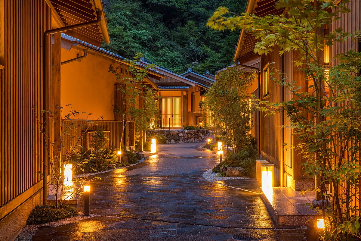 Nara onsen-Japanese bath-Yunotani Senkei