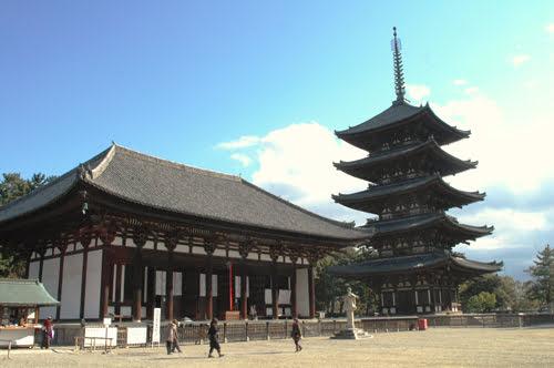 Nara temples-Kofukuji temple