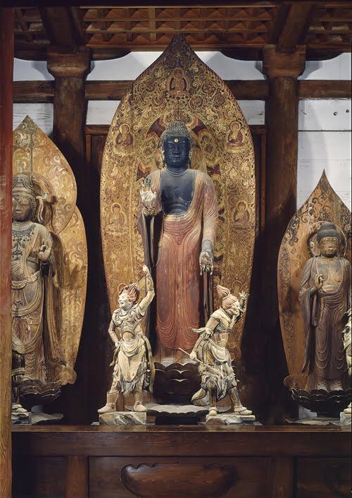 Nara temples-Shaka Nyorai