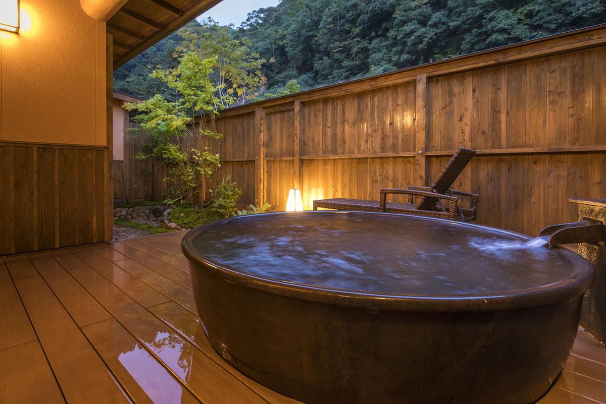 Nara hot springs hotels-Japan onsen-Yunotani Senkei