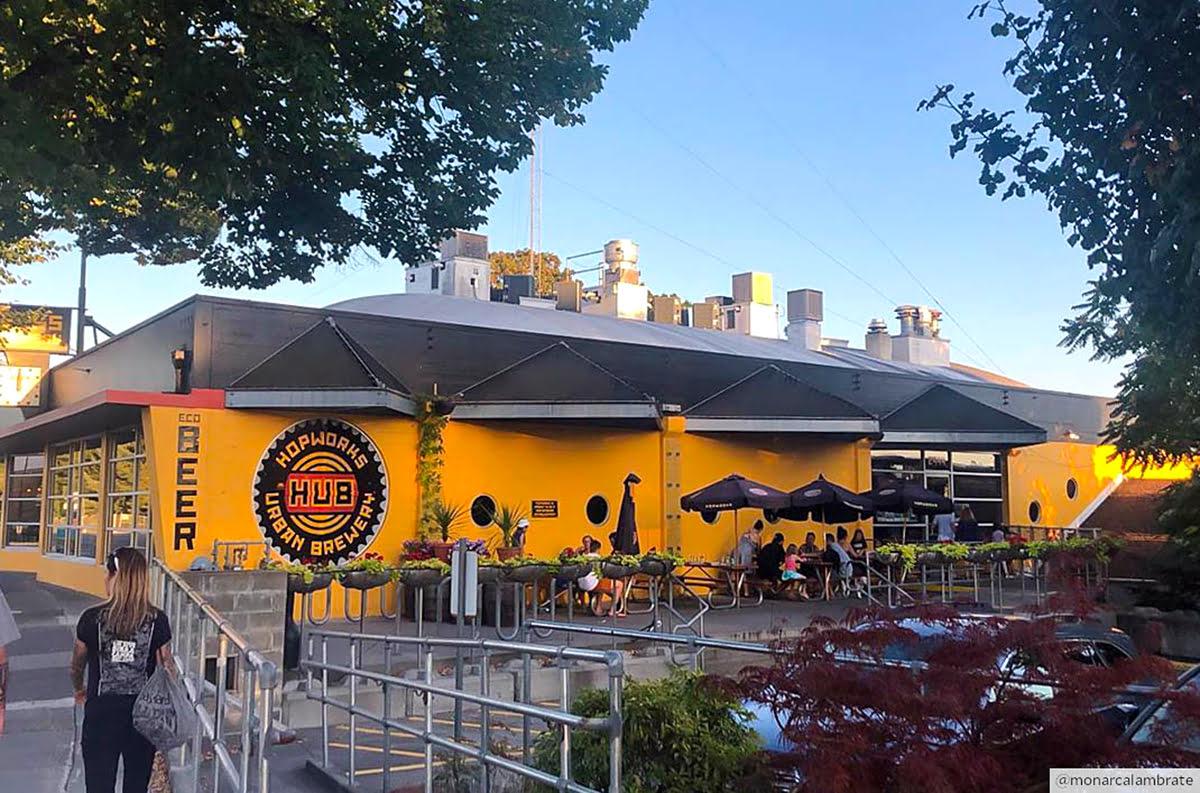 ทัวร์ชิมเบียร์-พอร์ตแลนด์-โอเรกอน-Hopworks Urban Brewery