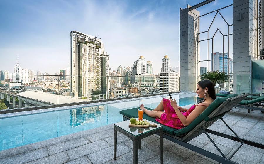 Hotels in Bangkok-Thailand-massage-Akara Hotel Bangkok