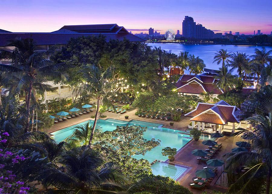 Các khách sạn tại Băng Cốc-du lịch-Thái Lan-Khu Nghỉ Dưỡng Anantara Riverside Bangkok